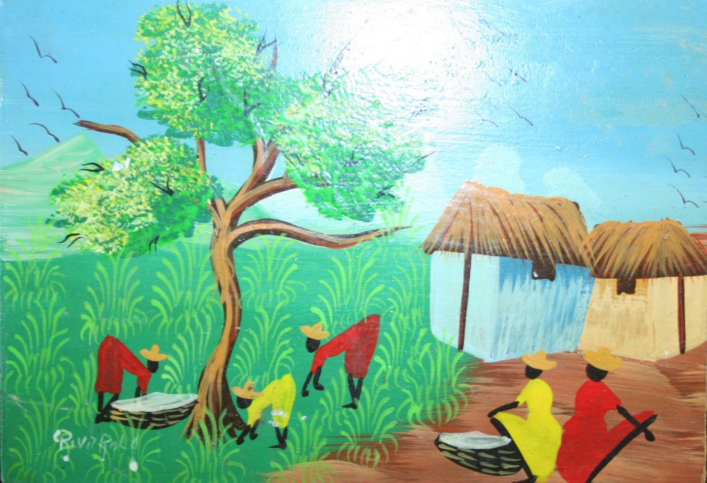 haitian art essay