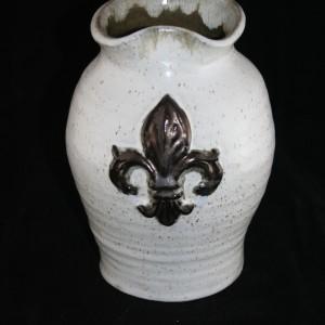 fleur-de-lis-vase
